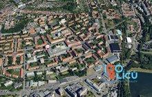 mapa satelitní