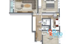 Na Robinsonce 1, Poruba - 1. Floor - 3D Floor Plan2