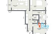 Na Robinsonce 1, Poruba - 1. Floor - 2D Floor Plan2