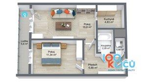 Prodej bytu 2+kk