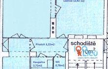 plánek bytu V Malém háji 308