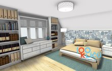 3D_ložnice