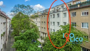 Pronájem bytu 1+kk Biskupcova 1868/93, Praha 3 BEZ PROVIZE