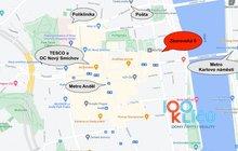 Mapa Zborovská 6