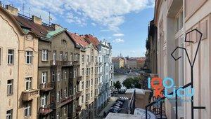 Pronájem, Krásný byt 1+kk, 20m² - Praha Smíchov BEZ PROVIZE