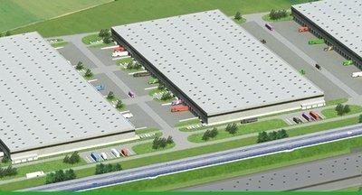 Modern warehouse space for lease - Pavlov