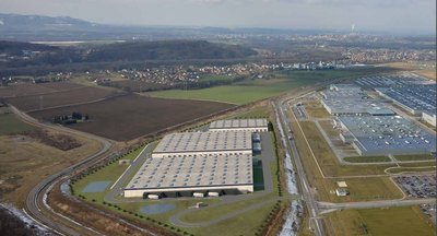 Warehouses and production units in a modern industrial park for sale - Nošovice (Frýdek-Místek)