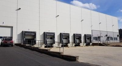 Industrial park - production or warehouse space for rent - region Ústí nad Labem, Czech Republic