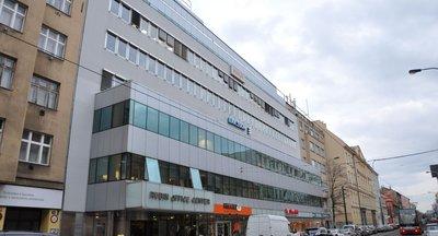 Rubín Office Centre, Sokolovská, Praha 8 - Karlín