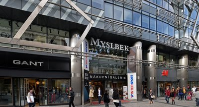 MYSLBEK, Na příkopě 19-21, Praha 1 - Staré Město