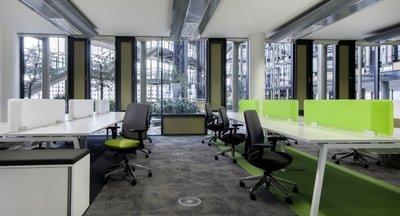 Kvalitní kanceláře v Danube House, Praha 8, Karlín
