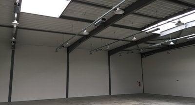 Pronájem: skladové nebo výrobní prostory, 400 m2, Nupaky-D1