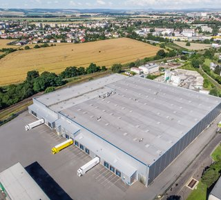 Modern warehouse space for rent, Opava
