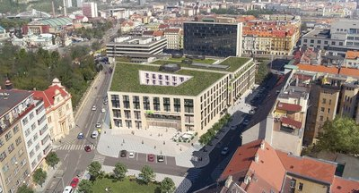 Centrum Stromovka,  Veletržní, Praha 7 - Holešovice