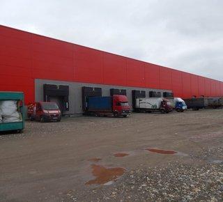 Logistické centrum, až 3000 paletových míst - Třebíč