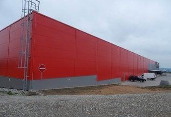 Logistics center, up to 4,000 pallet units - Trebic