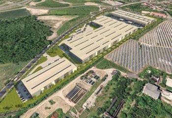 Pronájem: výrobní prostory, logistický park, Chomutov