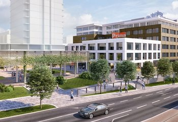 Vinice Business Centre, Vinohradská, Praha 10 - Strašnice