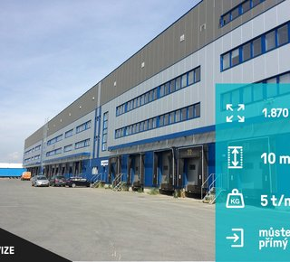 CTPark Plzeň - pronájem skladových a výrobních prostor