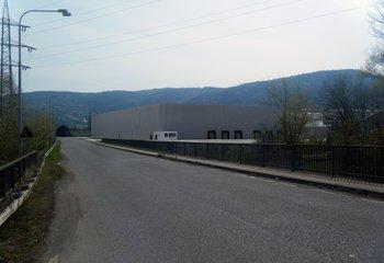 Pronájem - průmyslová hala a sklady -  Trmice / Ústí nad Labem