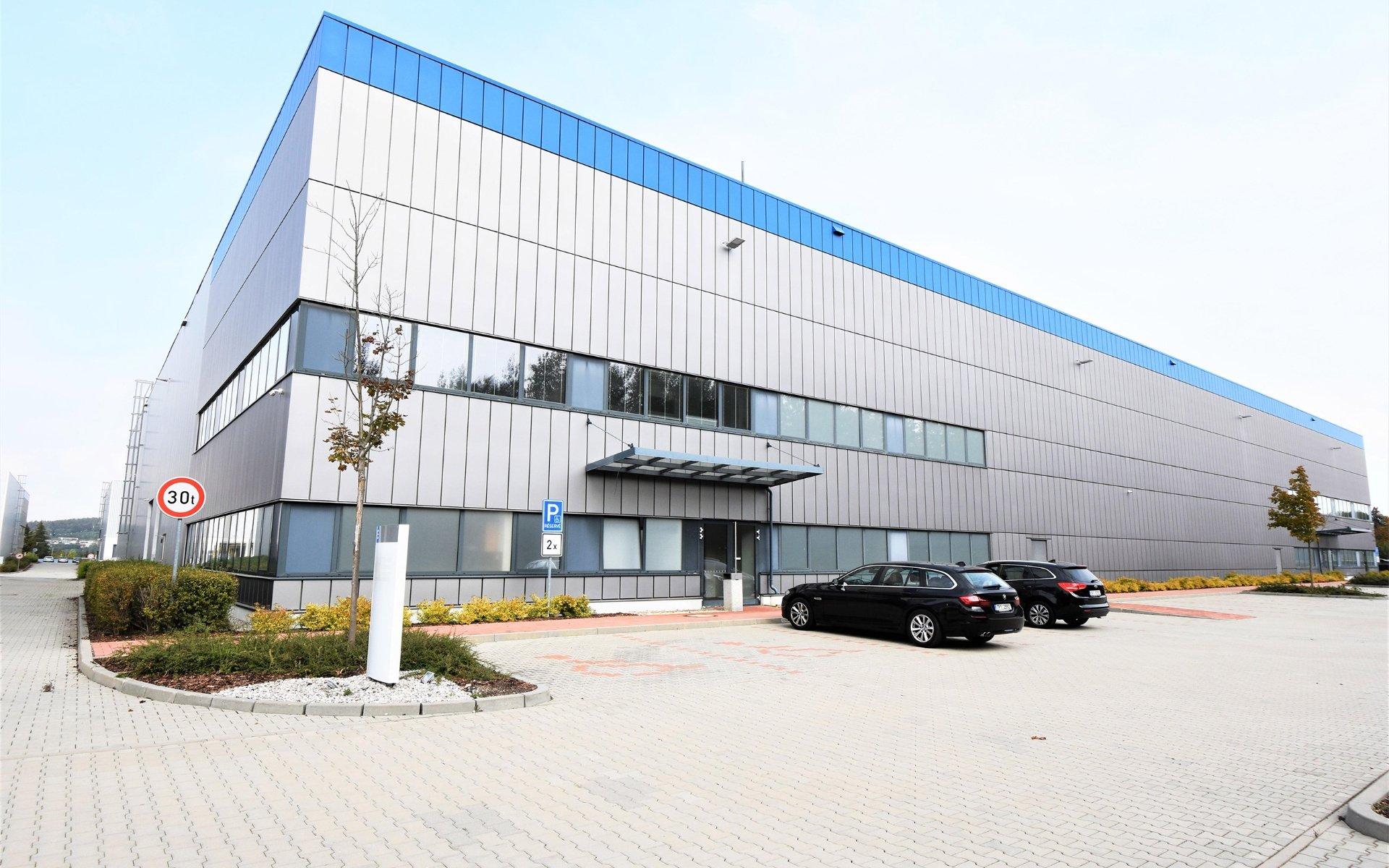 Business Park Plzeň Křimice, sklady k pronájmu 5.454 m2