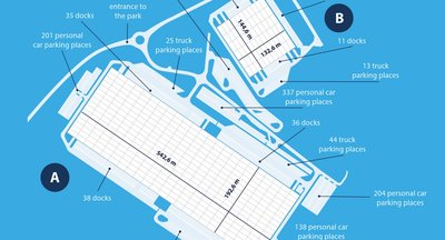 Pronájem - logistický park Ostrov (sklady, haly, výrobní prostory k pronájmu)