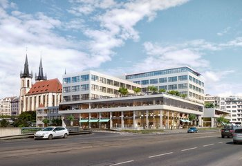 Well-located retail space - Bubenská - Prague 7 - Holešovice