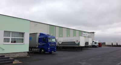 Moderní logistické centrum Cheb