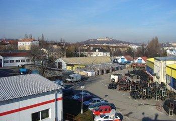 Lagerraumvermietung Dienstleistungen, Palettenplätze (Brno)