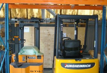 Warehouse leasing services, pallet locations (Brno)