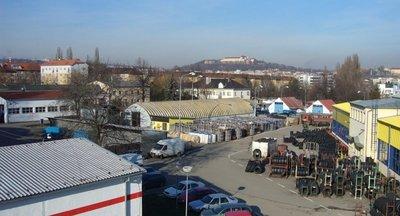 Pronájem sklad, uskladnění palet, Brno
