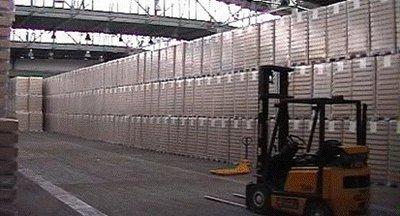 Nabídka logistických služeb, uskladnění palet a zboží - Most