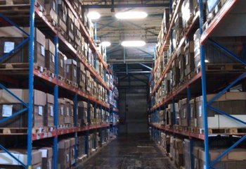 Rent - logistics and storage services, pallet space (Chomutov)