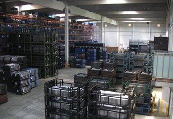 Vermietung von Lagerdienstleistungen, Lagerpaletten - 5627 m2 (Liberec)