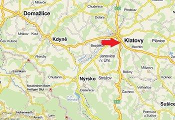 Skladová hala se službami až 4500m2 - lokalita Klatovy.