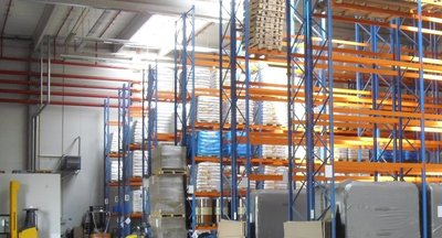 Warehouse services, 1000 m2