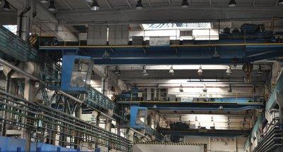 Pronájem: Výrobní prostory s portálovým jeřábem (21 a 32t), Praha 5