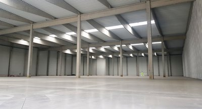 For rent: Modern warehouse and production space, industrial halls - region Ústí nad Labem, Czech Republic