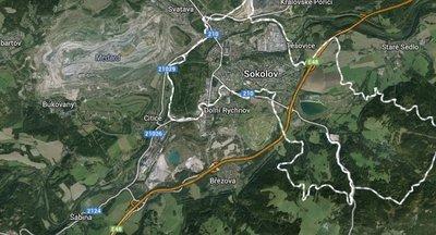 Greenfield, průmyslová zóna Sokolov - Staré Sedlo - 120 ha (investiční příležitost)