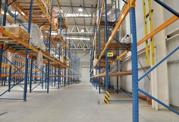 Rental of warehouse with equipment, 2.525 m2, Nupaky D1 (Prague East)