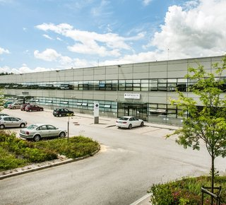 CTPark Blučina - pronájem skladových a výrobních prostor