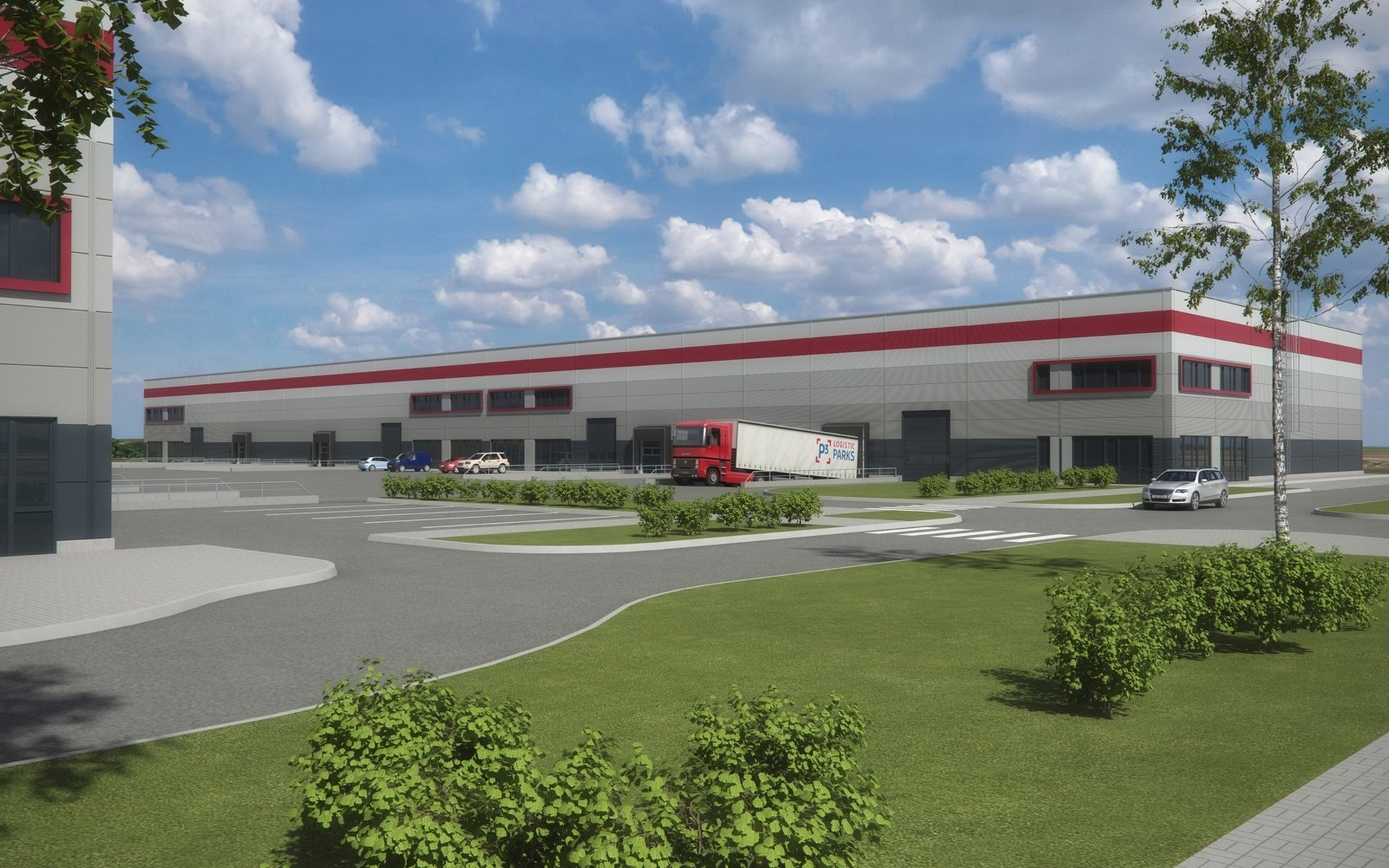 P3 Park Horní Počernice - Lease of warehouse and production space