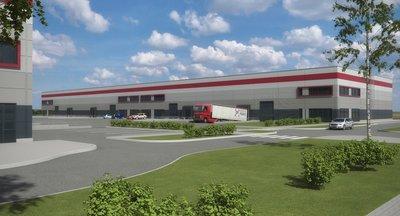 Warehouse / retail space for lease, Prague 9 - Horní Počernice