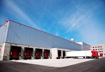 Logistické a administrativní centrum Zlín, 1500 m2