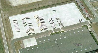 Skladování na venkovní ploše v blízkosti dálnice D11, Ovčáry u Kolína