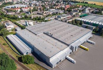 Modern logistics center, Opava
