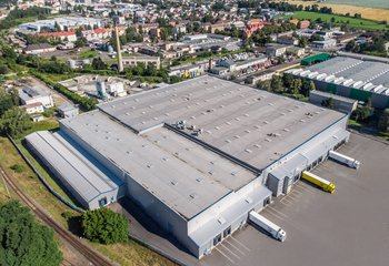 Moderne Logistikzentrum , Opava