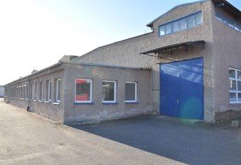 Pronájem: skladovací prostory a zpevněné plochy, Kladruby nad Labem