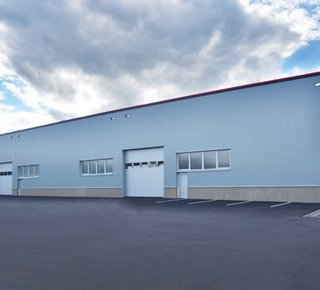 Lease production and storage halls, Žamberk