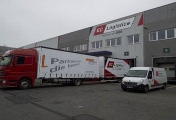 Skladování a logistické služby - lokalita Rudná u Prahy.